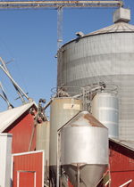 Family's on-site feed mill